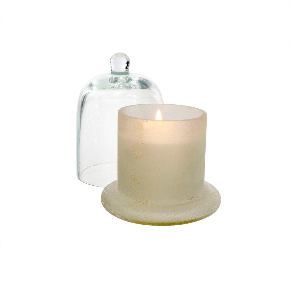 Cloche Candle White   Small