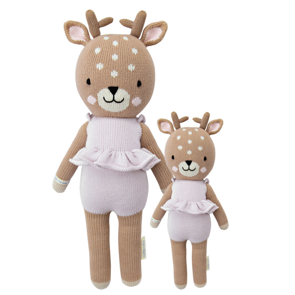 """Cuddle + Kind Violet the Fawn 13"""""""
