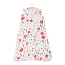 L.U Muslin Sleep Bag | Summer Poppy