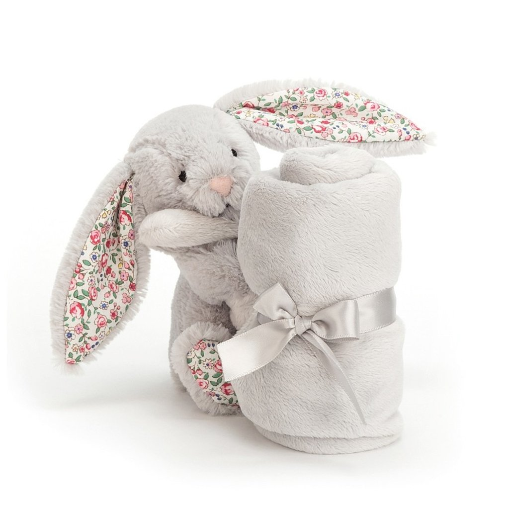 JellyCat Jelly Cat| Blossom Silver Bunny Blanket