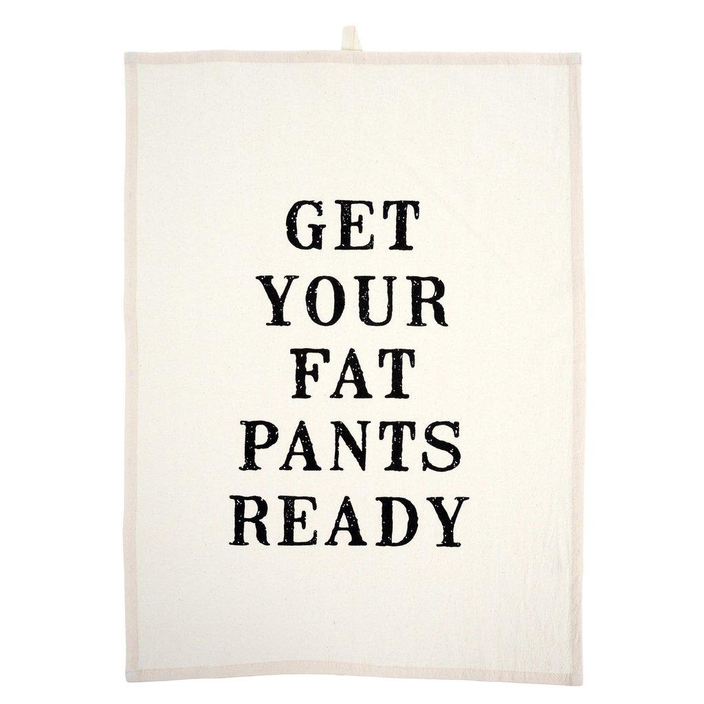Fat Pants Tea Towels