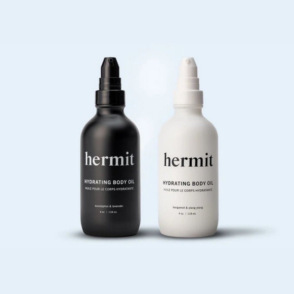 Hermit Hermit Hydrating Body Oil - Eucalyptus & Lavender