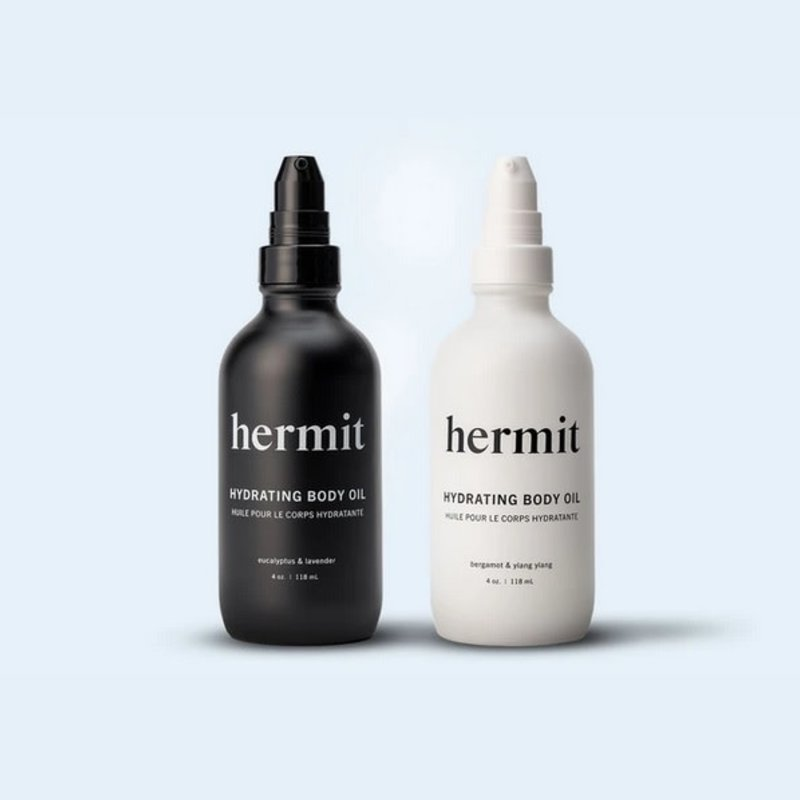 Hermit Hermit Hydrating Body Oil - Bergamont and Ylang Ylang
