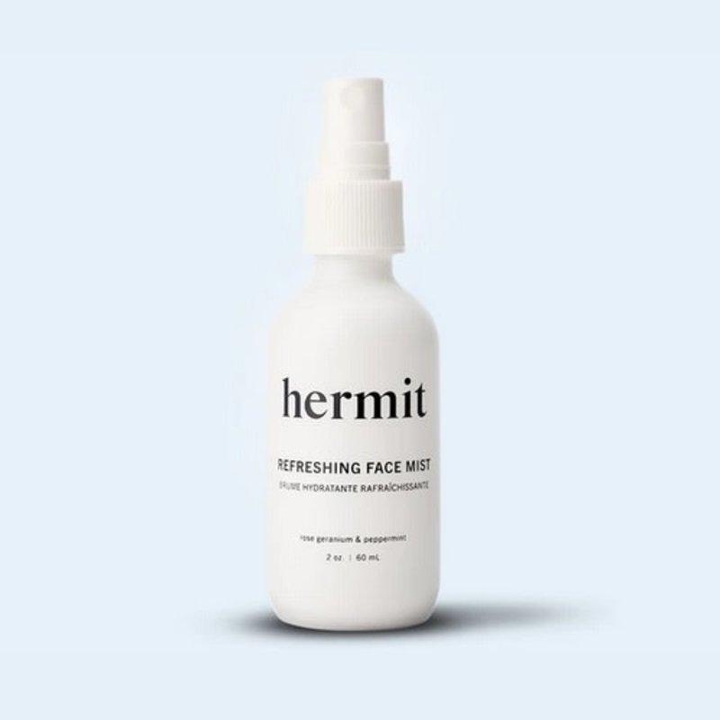 Hermit Hermit Refreshing Face Mist | Rose Geranium & Peppermint