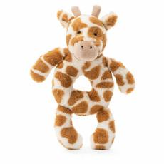 JellyCat Bashful Giraffe Ring Rattle