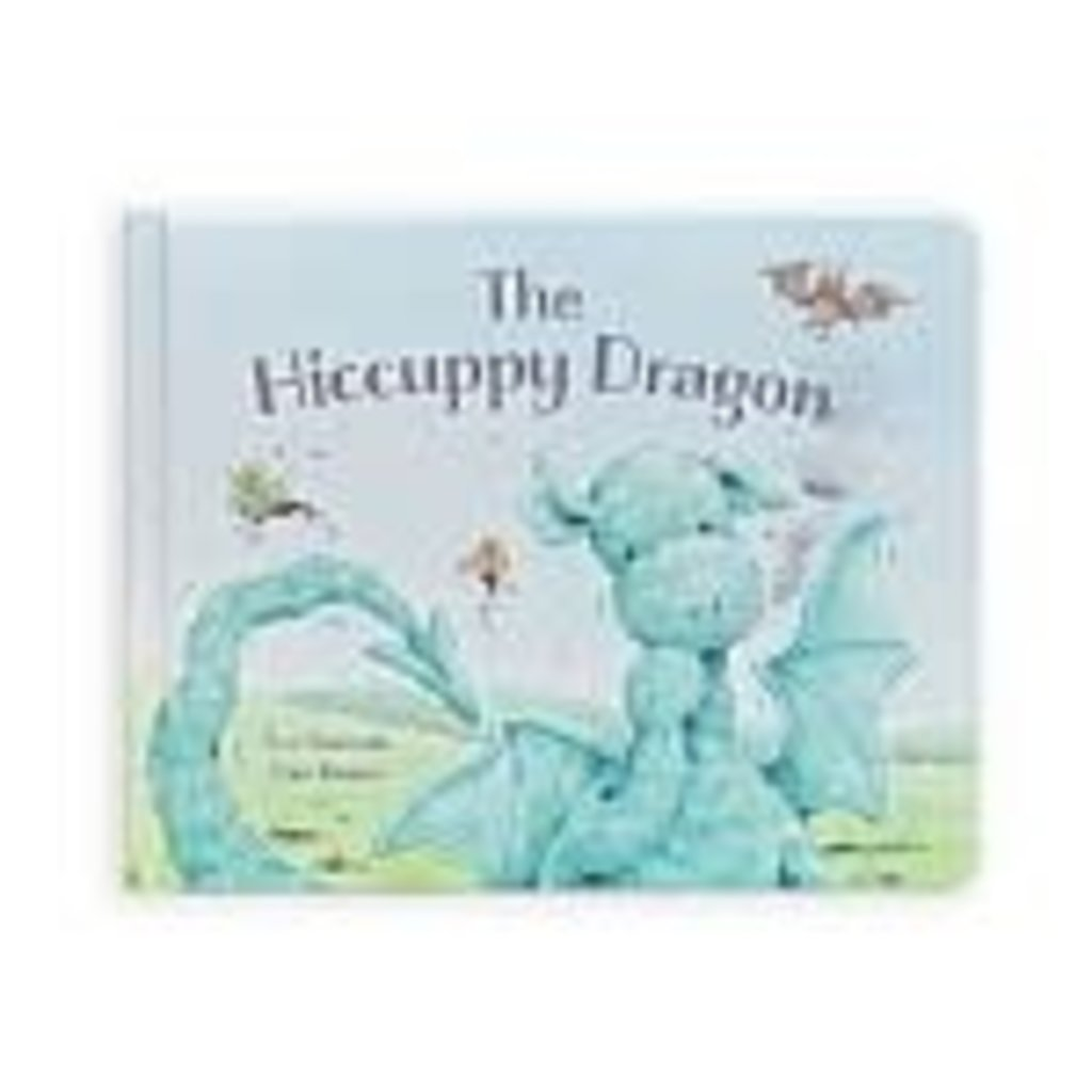 JellyCat The Hiccupy Dragon Book