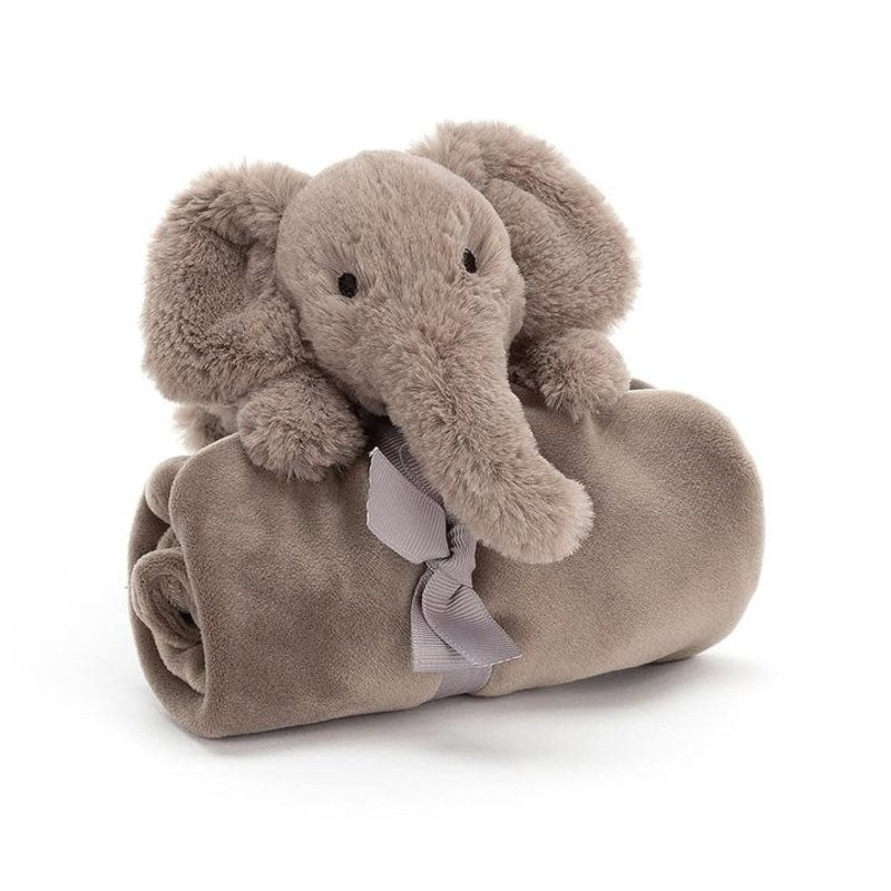 JellyCat Jellycat Smudge Elephant Soother