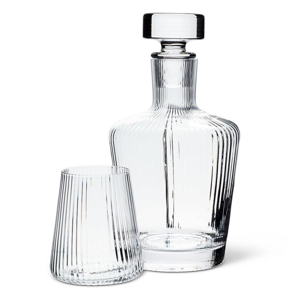 Tight Optic Liquor Decanter