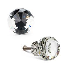 Small Crystal Ball Knob