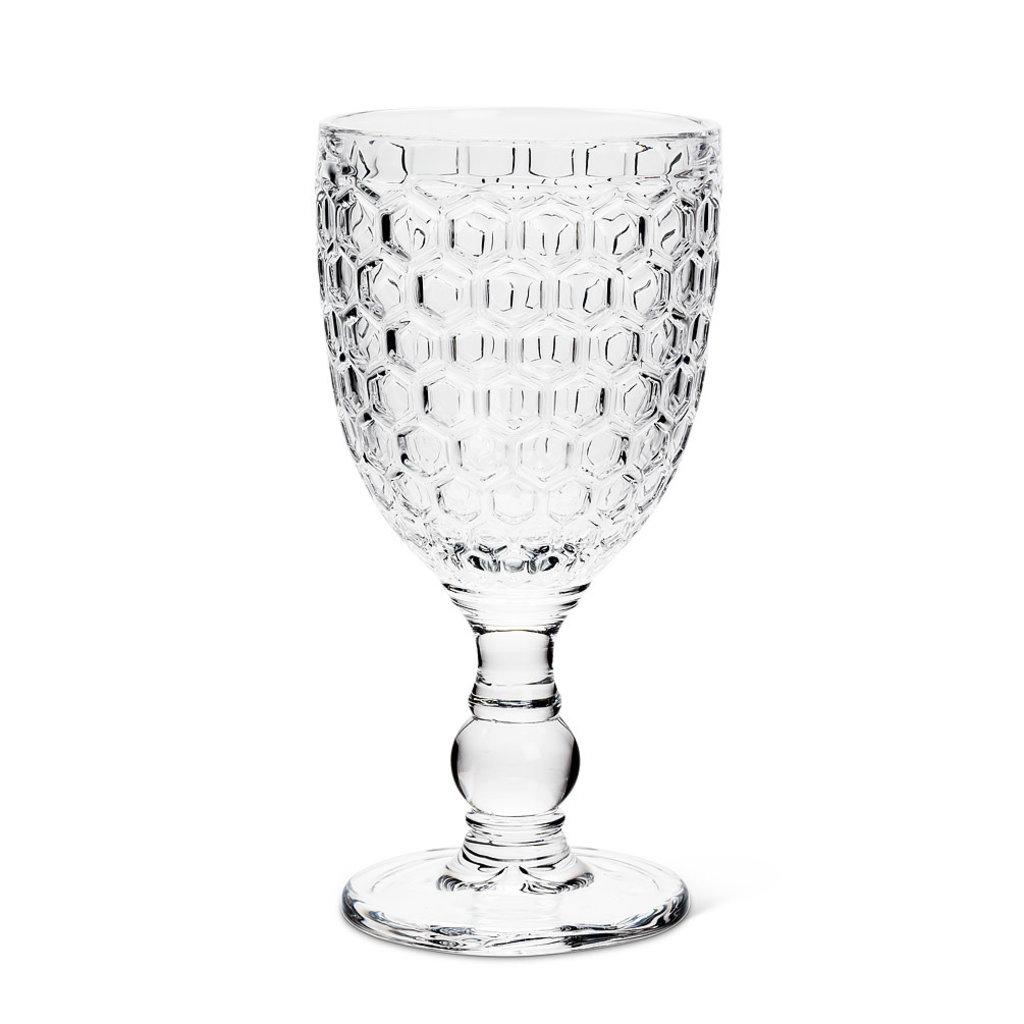 Honeycomb Wine Glass