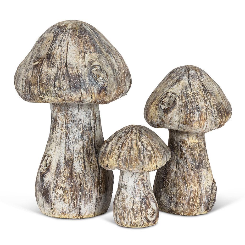 Small Wood Look Mushroom
