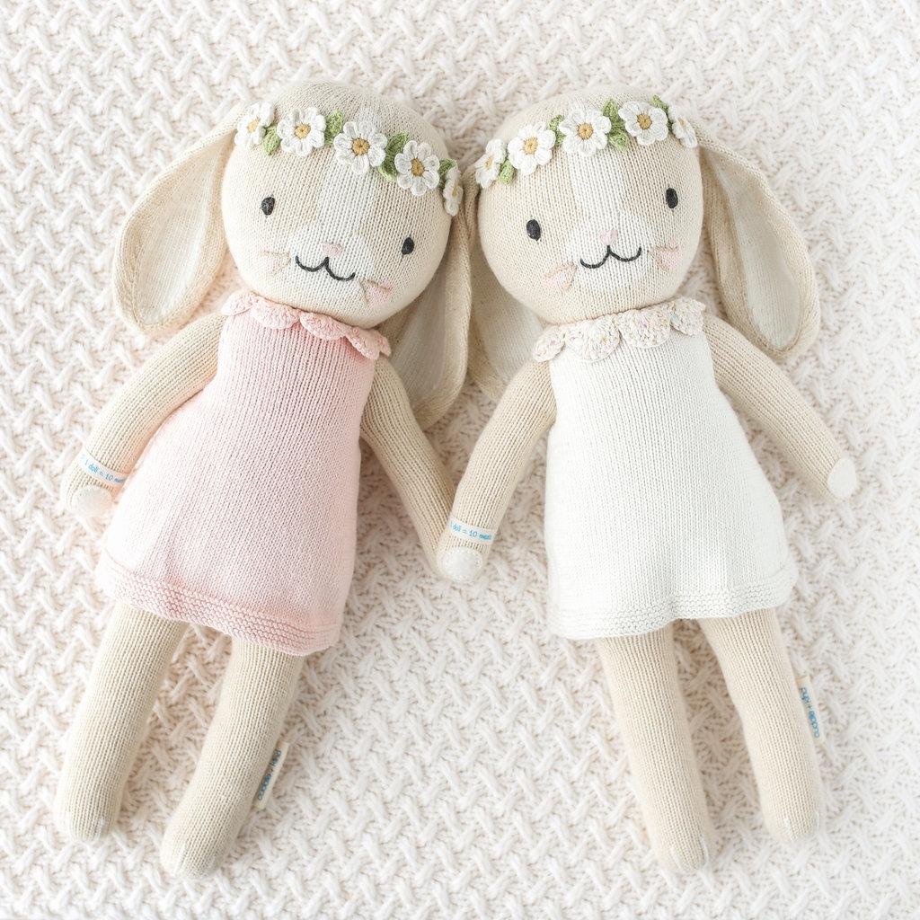 """Cuddle + Kind Hannah the Bunny White 20"""""""