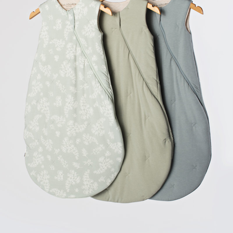 Loulou Lollipop Sleep Bag Tencel Slate 3-12 Month