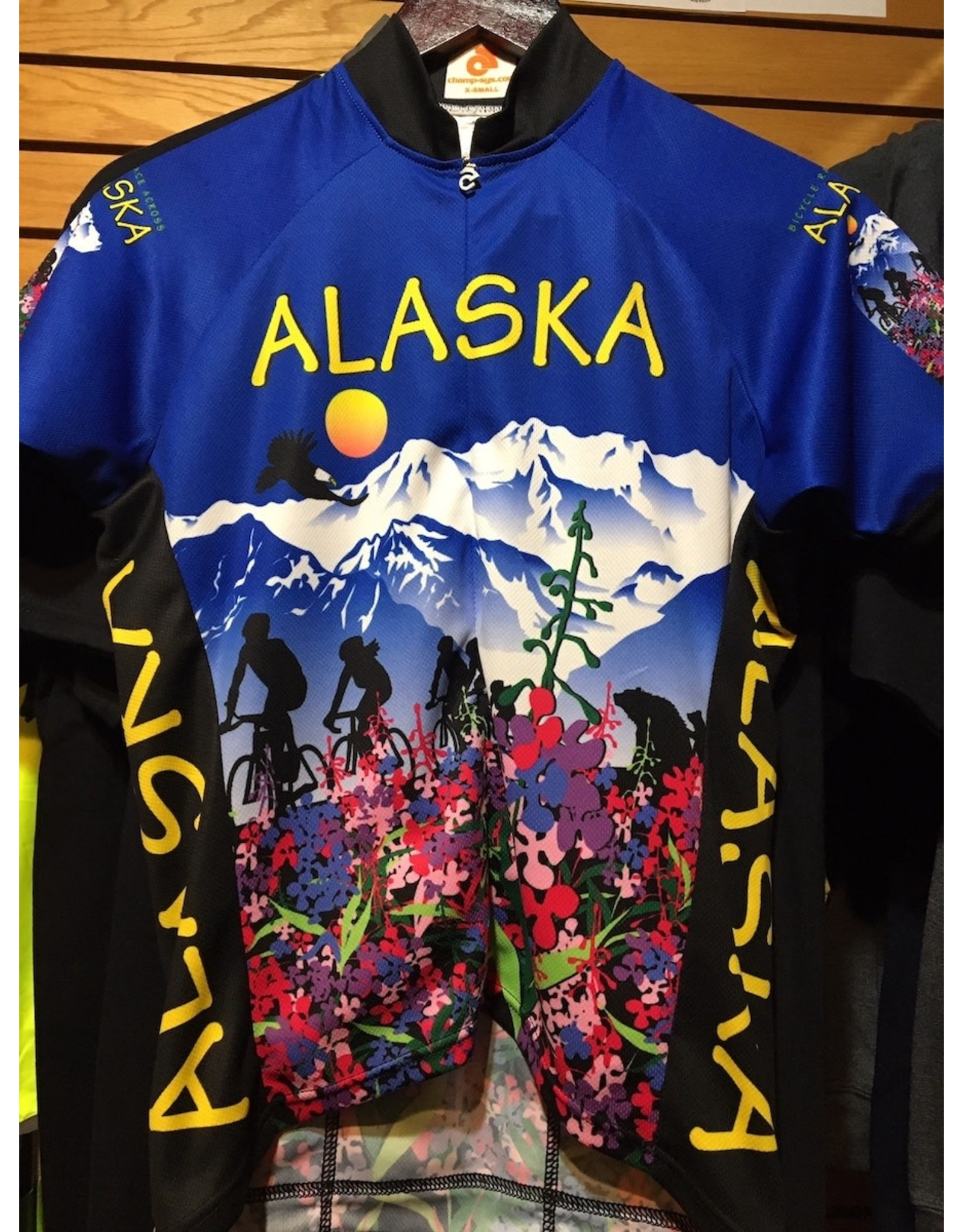 Free Spirit Jersey Free Spirit Womens SS Alaska Flower