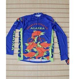 Free Spirit Jersey Free Spirit Mens LS Alaska Sockeye Fish