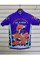 Free Spirit Jersey Free Spirit Womens SS Alaska Sockeye Fish