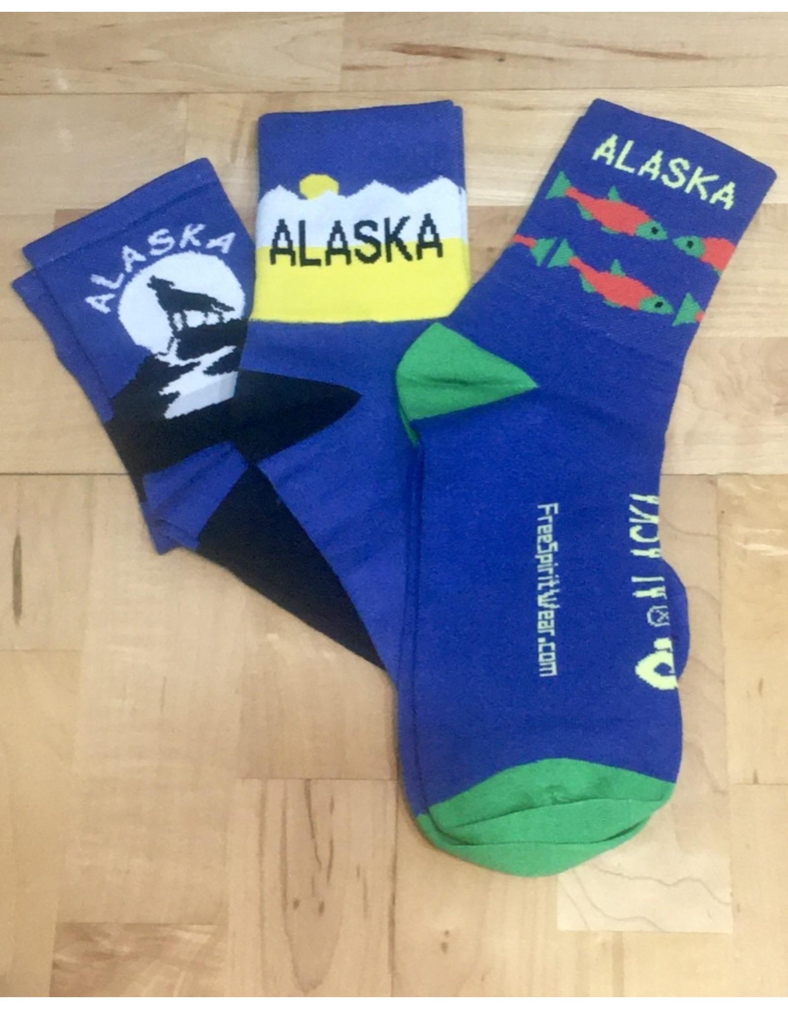 Free Spirit Socks Free Spirit Alaska Fish