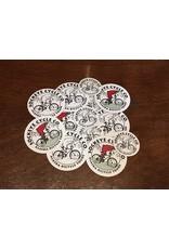 Sockeye Cycle Sticker - Sockeye Cycle Logo (all sizes & colors)
