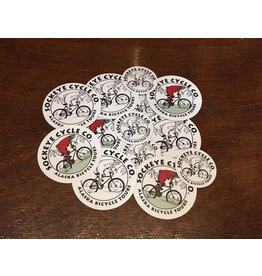 Sockeye Cycle Sticker - Sockeye Cycle Logo (all sizes & colors)