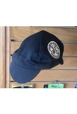 Walz Cycling Cap Walz Cotton 4-Panel Black with Embroidery