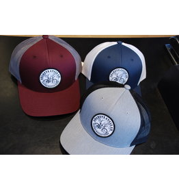Captuer Snapback Trucker Hat w/ Printed Patch