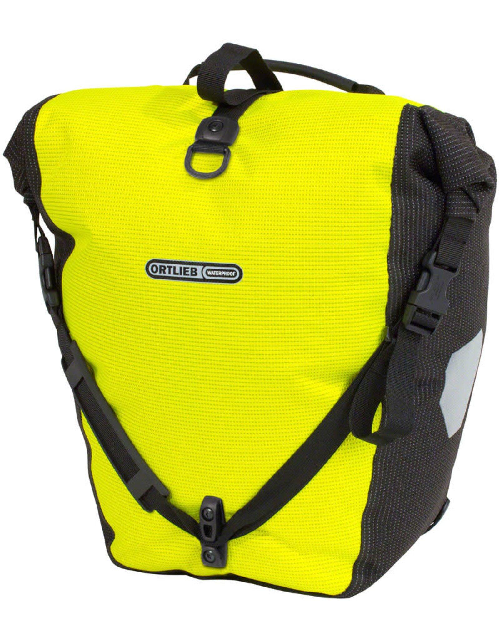 Ortlieb Ortlieb Back Roller Pannier - Single -  High Vis Yellow - 20L