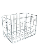 Wald Wald Rear Folding Wire Basket - SIlver