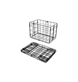 Wald Wald Rear Folding Wire Basket - Black