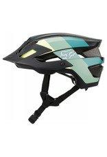 Fox Flux Drafter Helmet - Black/Yellow/Green - XS/S