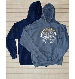 Shtumpa Pullover Hoodie Gold/White Sockeye Cycle Logo