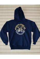 Pullover Hoodie Gold/White Sockeye Cycle Logo