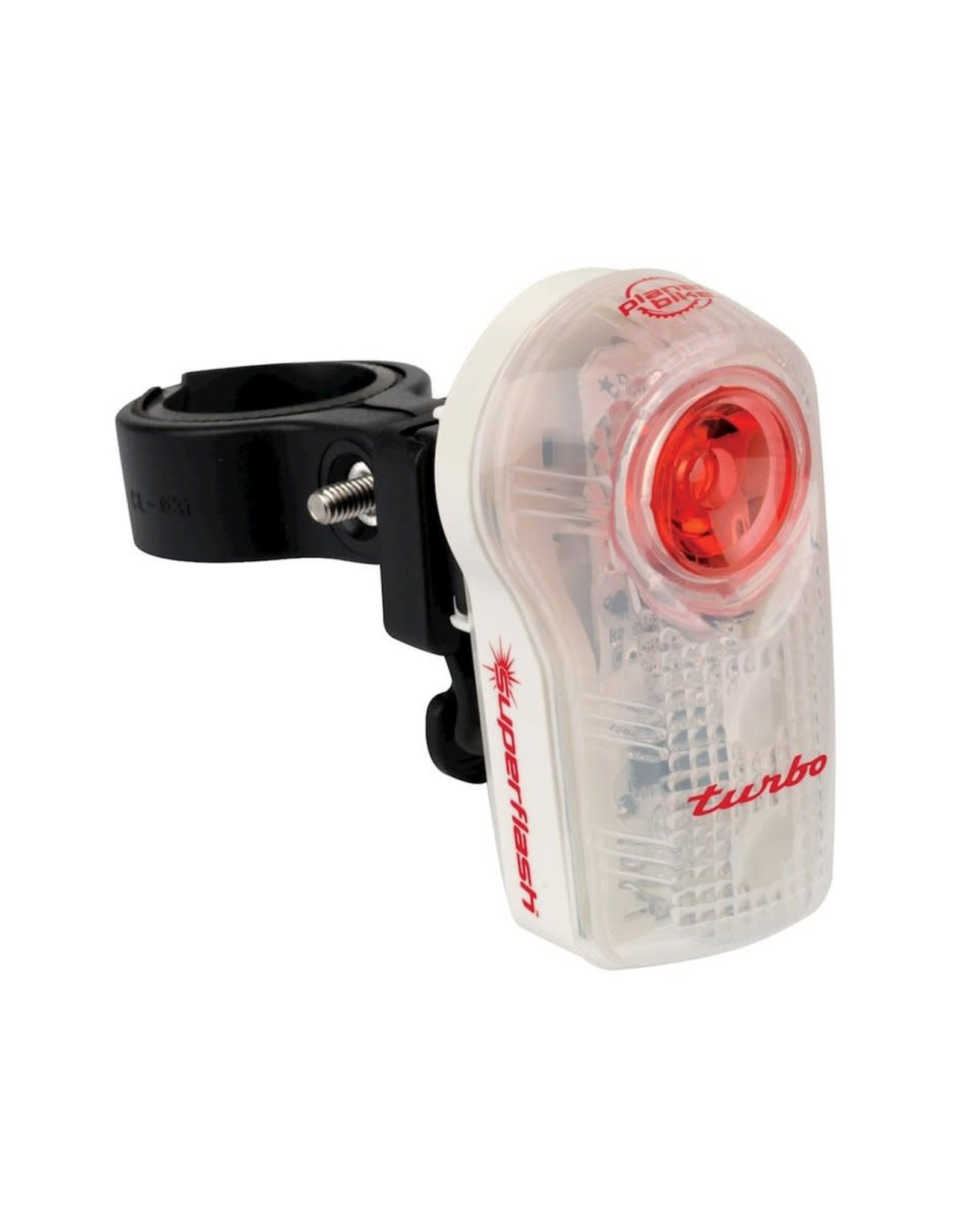 Planet Bike Super Flash Turbo 1w Bright Rear LED