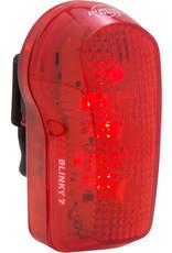 Planet Bike Planet Bike Blinky 7 LED Taillight - Red/Black