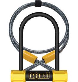 "on guard OnGuard BullDog Series U-Lock - 3.5 x 5.5"", Keyed - Black/Yellow"