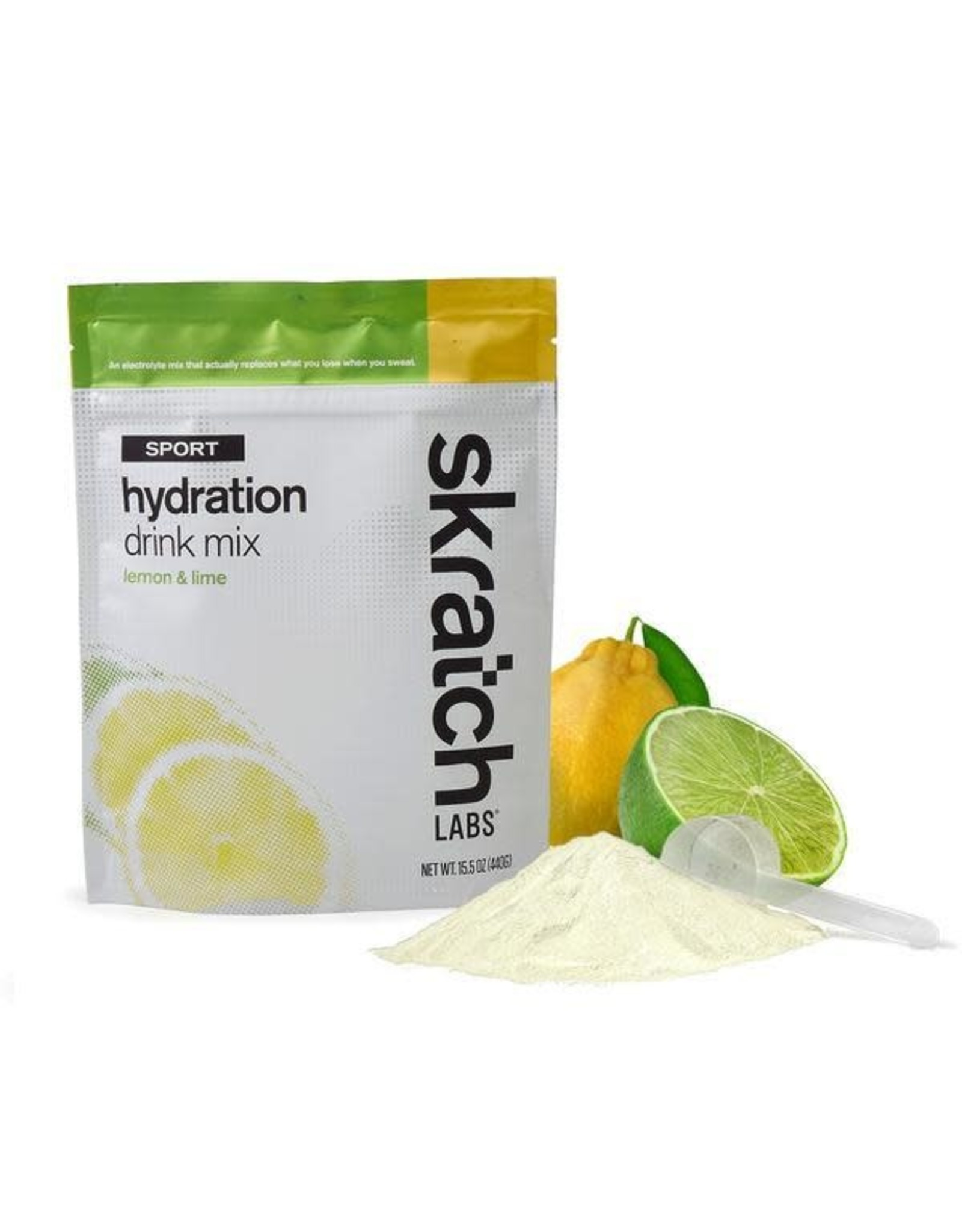Skratch Skratch Labs Sport Hydration Drink Mix (20 Serving Pouch) - Lemons and Limes