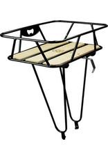 Minoura Minoura Gamoh King Carrier Front Basket: Large - Black