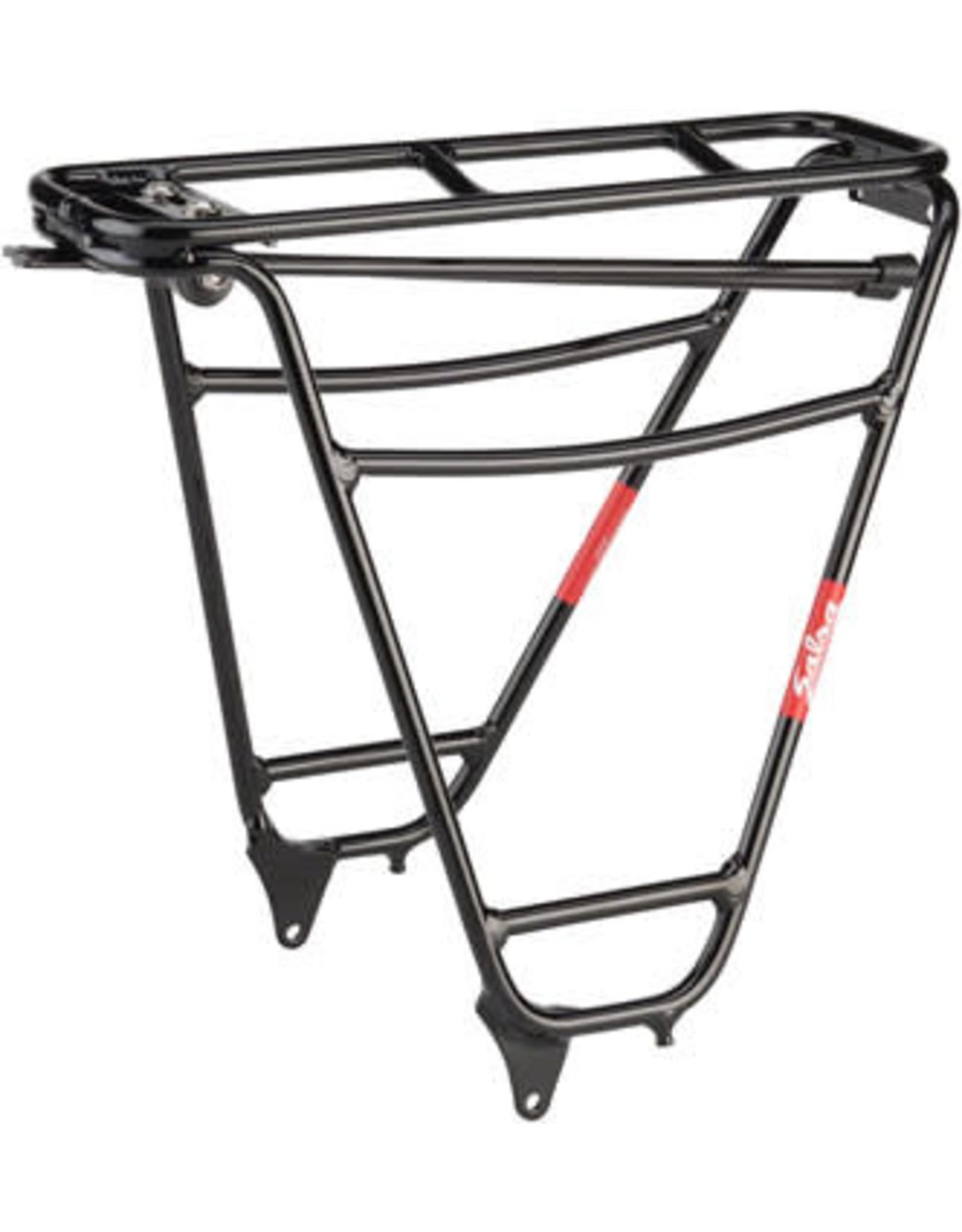 Salsa Alternator Rear Rack: 190 - 197mm Spacing - Black