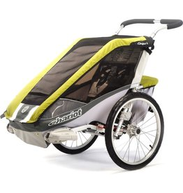 Chariot Chariot Cougar 1 Child Trailer - Avocado