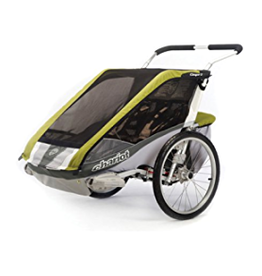 Chariot Chariot Cougar 2 Child Trailer - Avocado