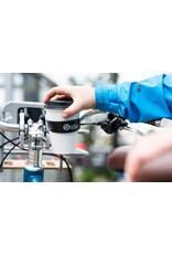 Portland Design Works Barista Cup Holder: fits 22.0-25.4mm handlebars, Black