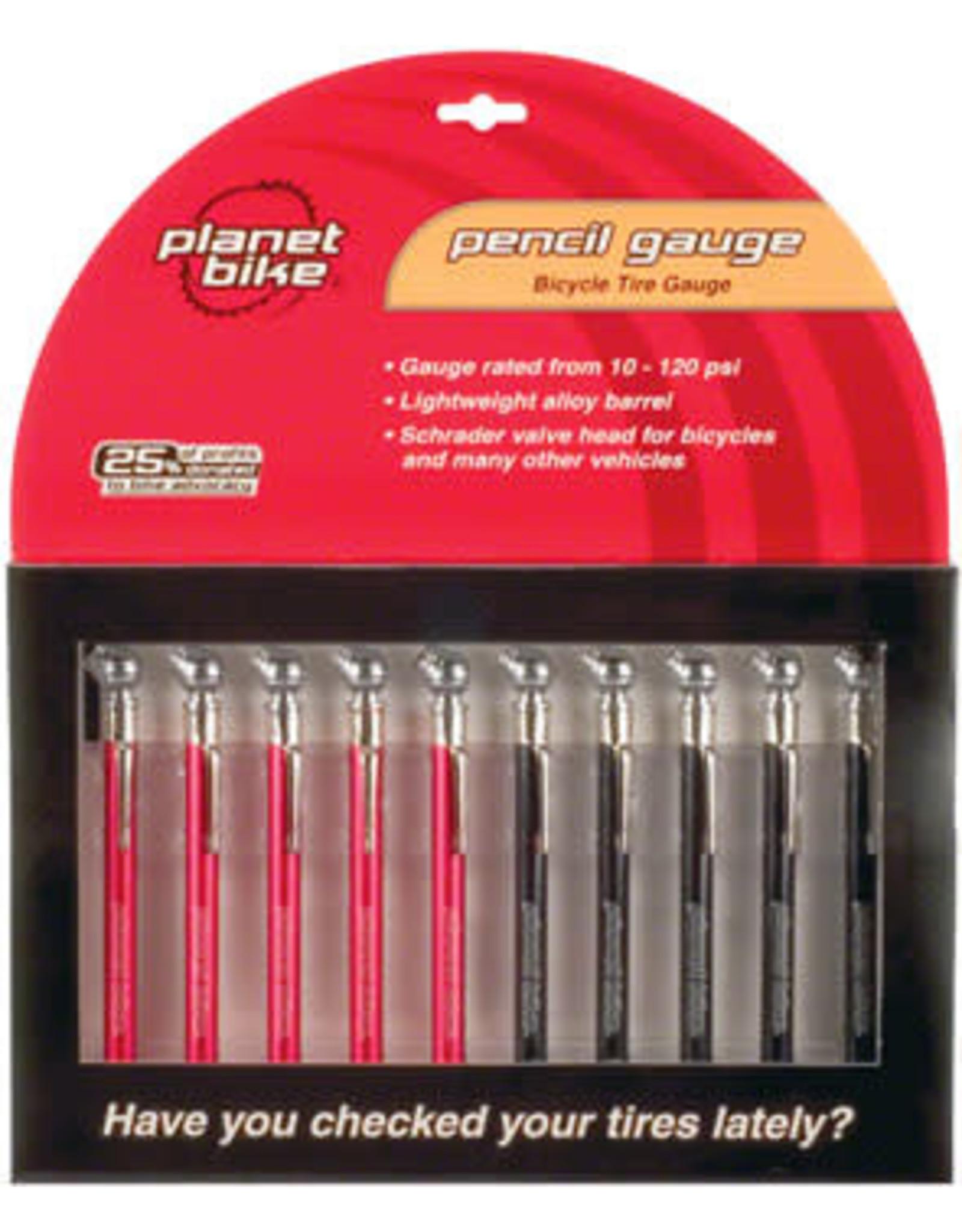 Planet Bike Air Gauge Planet Bike Pencil Style