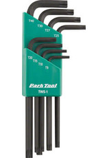 park tool Park Tool TWS-1 L-Shaped Torx Compatible Wrench Set with Holder