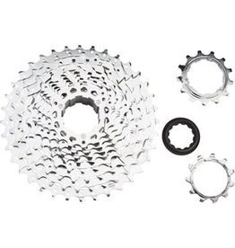 Microshift microSHIFT H10 Cassette -  11-36t, Silver, Chrome Plated - 10 Speed
