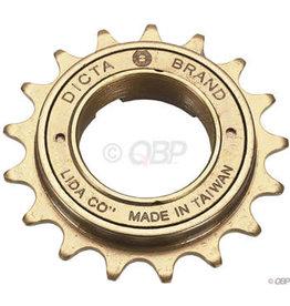 Dicta Dicta Standard BMX Freewheel - 16t, Gold