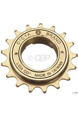 Dicta Dicta Standard BMX Freewheel - 17t, Gold