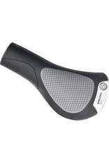 Ergon Ergon GC1 Grips - Black/Gray, Lock-On