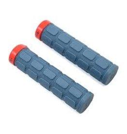 Specialized Specialized Enduro XL Locking Grips, Grey/Red