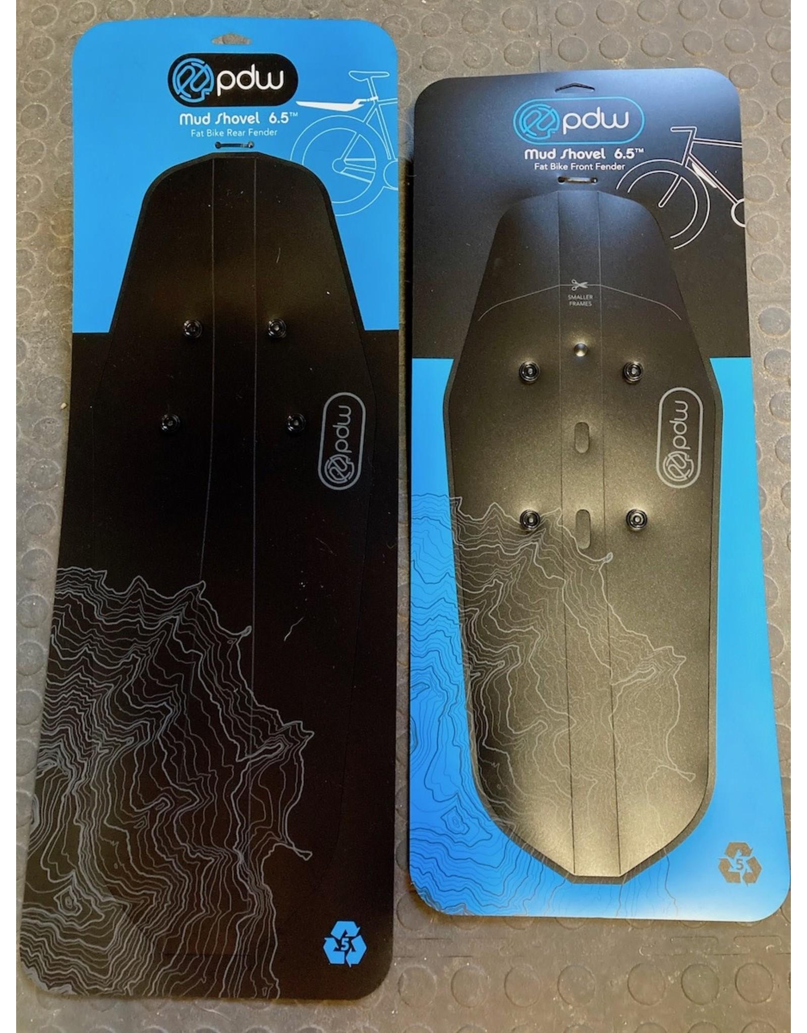 PDW Portland Design Works Mud Shovel 6.5 Fat Fender: Front