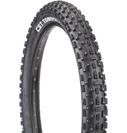 CST CST Toboggan Tire - 26 x 4, Clincher, Wire, Black, Studded