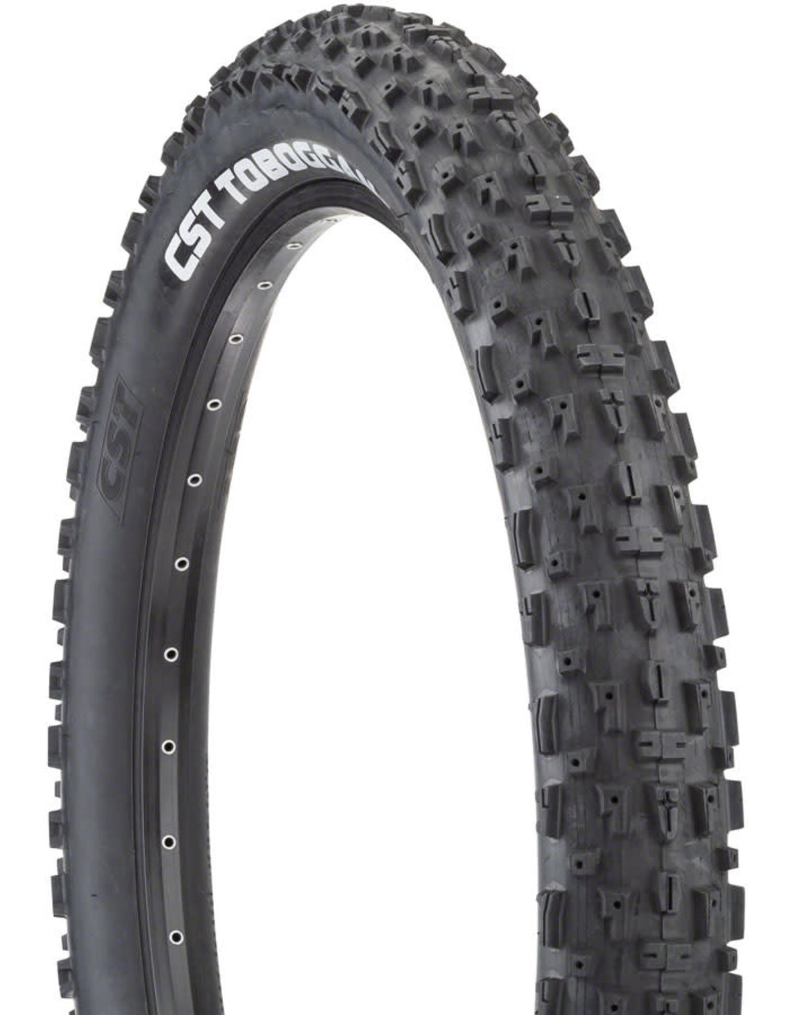 CST CST Toboggan Tire - 26 x 4, Clincher, Wire, Black